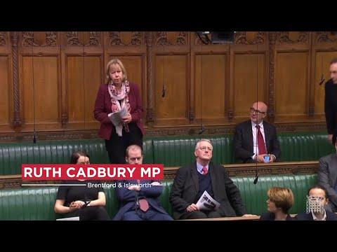 Ruth Cadbury MP addresses Parliament
